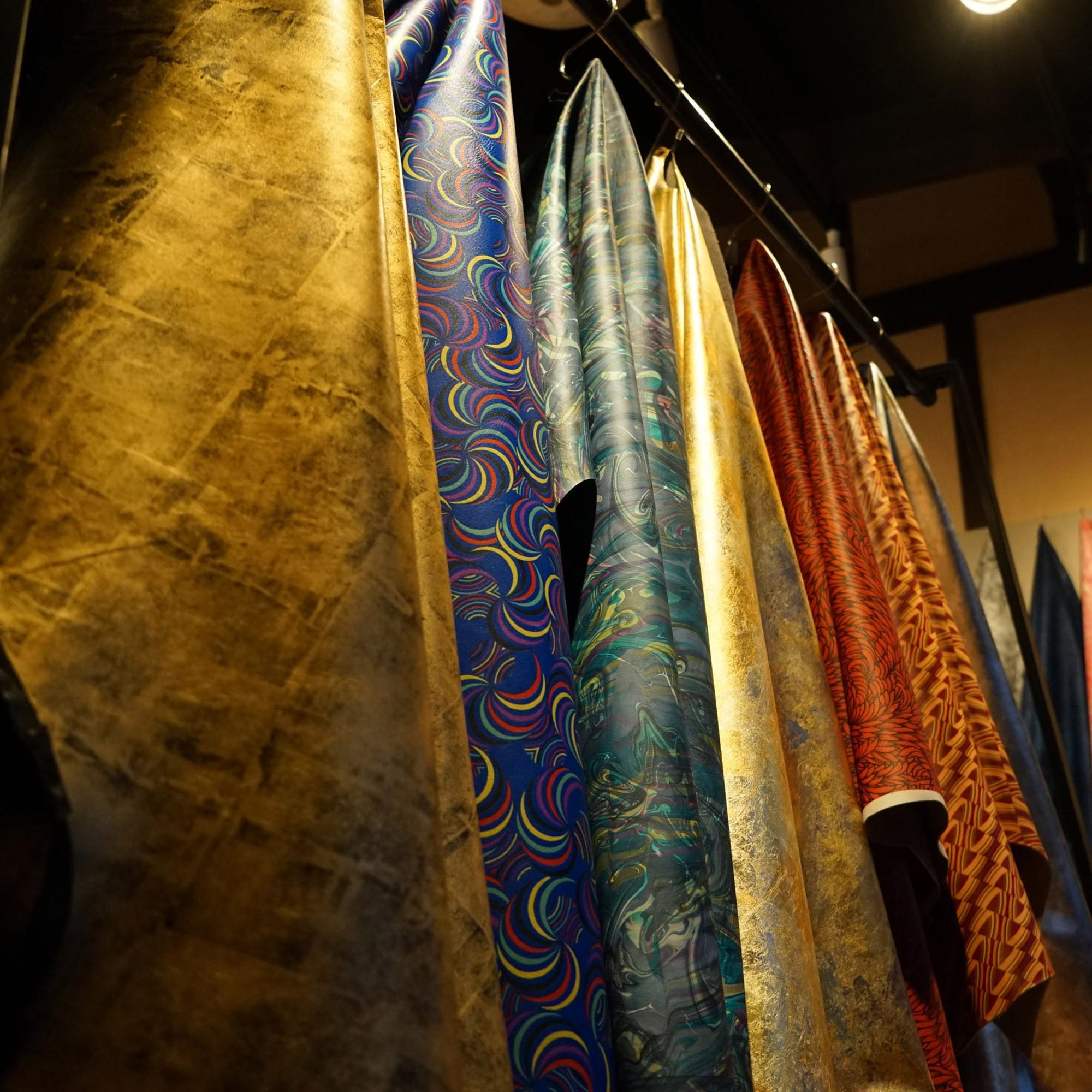 着物で培われた色・柄の美しさ